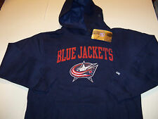 COLUMBUS BLUE JACKETS REEBOK PULLOVER HOODED SWEATSHIRT YOUTH SIZE M (10-12) NWT