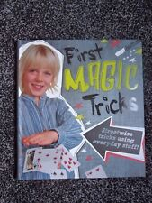 My First Book of Magic Tricks Hardback NEW