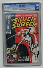 Silver Surfer #7 - CGC 9.2 - Marvel - Stan Lee / Buscema - Last 25¢ Issue - 1969
