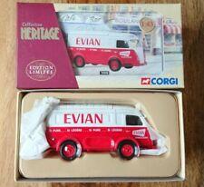 """Corgi 70508 Renault 1000kg """"EVIAN"""" water Ltd Edition No 1876 of 2000"""