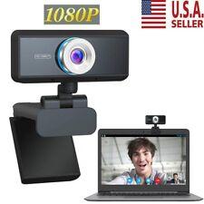 Hd 1080P Usb Webcam Video Camera Web Cam w/ Mic For Computer Pc Desktop Laptop