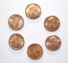 6 Mini Pennys Shrinking Penny Money Joke Coin Magic Trick