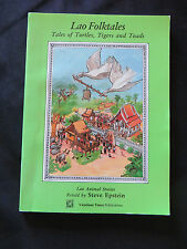 Lao Folktales of Turtles Tigers and Toads by Steven Jay Epstein PB 1996
