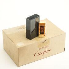 Vintage Must de Cartier Perfume Mini Miniature Sample Travel Parfum Extrait