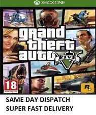 Grand Theft Auto GTA V 5 Five XBOX One Game - MINT - Super FAST Delivery