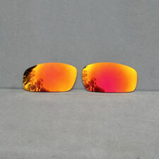 Orange Red Mirror Replacement Lenses for-Oakley Monster Pup Sunglasses Polarized
