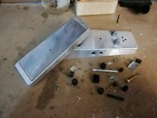 Wah wah box alluminio, Wah aluminum box DIY pedals crybaby