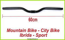 MANILLAR para bicicleta Mountain bike MTB Bici De Paseo - 60 cm / en negro