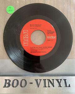 "Elvis Presley - Teddy Best / Loving You 7"" Vinyl Record Gold Standard EX"