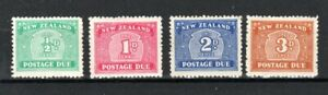 New Zealand 1939-49 Postage Due set MH