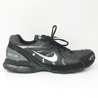 Nike Mens Air Max Torch 4 343846-002 Grey Black Running Shoes Lace Up Size 15