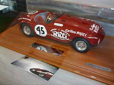 Ferrari 375 Plus Stradale 1954 Rouge Street Version O 1/18 BBR Voiture Miniature