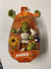 Shrek 2 Action Figure w/ Slammin Arm & Swamp Gas Feature Hasbro NEW Sealed!