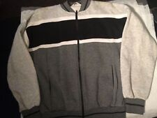 Vtg. Christian Dior Monsieur Jacket Sweatshirt Mens Coat Sz M