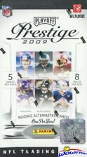 2009 Playoff Prestige Football Factory Sealed 8 Pack Blaster Box !