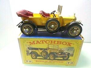 1969 MATCHBOX-'Models of Yesteryear' Y-13 1911 DAIMLER w box