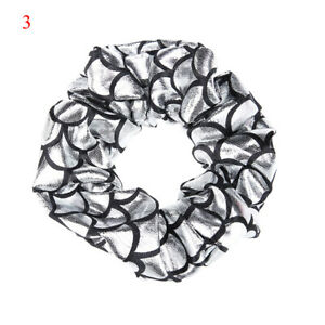 Women Big Scrunchies Ponytail Solid Elastic Hair Bands Girls Hair Rope Festival