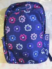 VERA BRADLEY Lighten Up Laptop Backpack ELLIE FLOWERS Travel Bag College Work