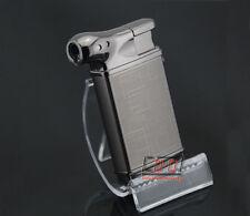 Novelty Metal Pipe Shape Butane Cigarette Cigar Jet Torch Lighter Gas Refillable
