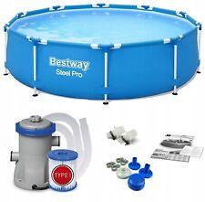 Bestway 10ft 305cmx76cm acero Pro-round piscina con Filtración bomba