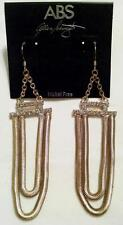 NWT $85 ABS ALLEN SCHARTZ Rhinestone Nickel Free Designer Earrings New
