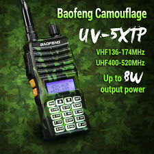 Baofeng UV-5X TP 8W Camouflage Dual Band Two Way Ham Radio Walkie Talkies 128CH