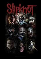 Slipknot Oxidiert Groß Stoff Poster/Flagge 1100mm x 750mm (Hr )