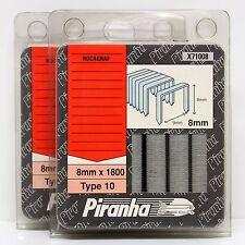 BLACK & DECKER TYPE 10 STAPLES 8MM ROCAGRAF  ROC 22, 25, ROC 310 (5 PACKS)