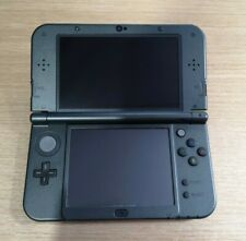 Nintendo New 3DS XL Metallic Black Handheld Console System & Genuine Charger