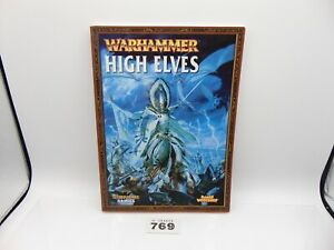 Warhammer Fantasy Armies Army Book High Elves 769-278