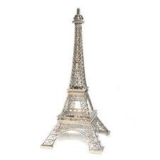 "Metal Eiffel Tower USA Seller centerpiece or cake topper 7"" silver gold bronze"