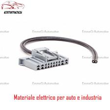 KIT CONNETTORE GRIGIO BODY COMPUTER FIAT PANDA 10 VIE CON TERMINALI CABLATO