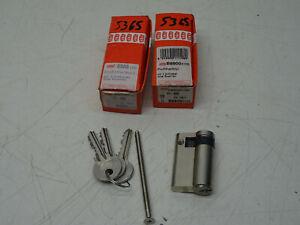 2x BKS Zylinderschloss Profilzylinde Schließzylinder 40 mm Halbzylinder B8900105