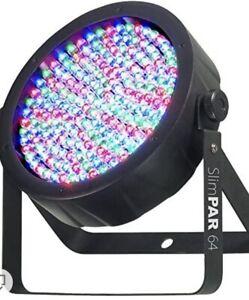 CHAUVET DJ SlimPAR 64 RGB LED DMX Stage Wash Can Fixture