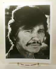 Charles Bronson signed 8 x 10 Photo  w/coa