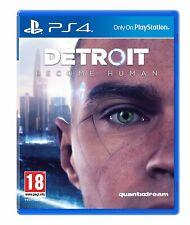 Detroit Become Human - PS4 Playstation 4 Spiel - NEU OVP - deutsche Spielsprache