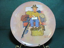 "Norman Rockwells ""Scotty'S Stowaway"" 10 Inch Collector Plate #15530"