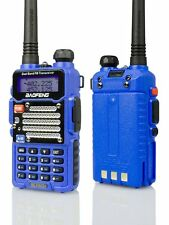 Baofeng Blue BF-F9 V2+ TRI-POWER 8 Watt Two Way Dual-Band HAM Radio-REFURBISHED
