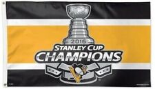 Pittsburgh Penguins Flag 2016 Stanley Cup Champions 3x5 Large Licensed