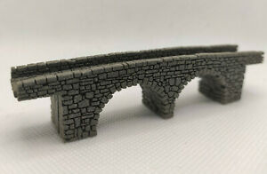 Track Z Stone Arch Bridge 2 Sheets Laser Engraved PROFESSIONALLY PAINTED