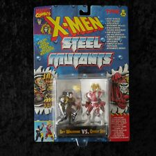 X-MEN Steel Mutants Wolverine vs Omega Red Figures NEW UNOPENED EXPRESS POST
