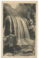 France - Grenoble, Sassenage, Une Cascade - Vintage Postcard