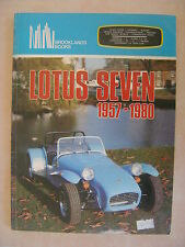 Lotus Seven 1957-1980 by Brooklands Books