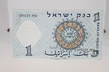 1958 Bank of Israel 1 Lira - Paper Bill
