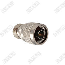 10 Pieces N-UHF Type N male Plug to UHF SO-239 female jack adapter good quality