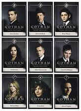 2016 Gotham Series 1 - 100 Card Mini-Master Set - 72 Base + 3 Chase Sets BATMAN