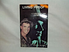 LIVING PROOF by Lt. Clebe McClary 1978 PB USMC VIETNAM SIGNED Autographed