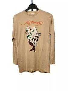 Ed Hardy TODLER Double Sleeve Graphic Panther Tee NWT