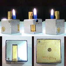 Briquet CUBE ** IPPAG DICE Bi-Color ** Pointe de diamant ** Lighter * Feuerzeug