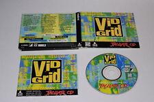 Vid Grid CD Atari Jaguar Video Game Complete in Case